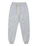 세컨무브(SECONDMOVE) COLOR BLOCK SWEAT PANTS_GRAY