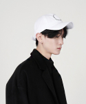 로우 투 로우(RAW TO RAW) [Edition 3] FRONT SYMBOL WHITE BALL CAP