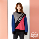 아이아이(EYEYE) COLOR BLOCKING KNIT PULLOVER (EEOS4NTL70W0C3)