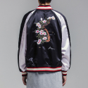 블레디션(BLEDITION) ROSE OF SHARON SOUVENIR JACKET BLACK