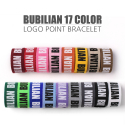버빌리안(BUBILIAN) [버빌리안] Point Logo Bracelet _ 17 Color