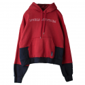 로맨틱크라운(ROMANTIC CROWN) [ROMANTICCROWN]LIVELY WIDE HOODIE_BURGUNDY