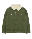 바스틱() Vastic Cotton Sherpa Jacket_Khaki