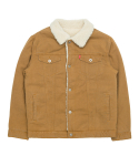 바스틱() Vastic Cotton Sherpa Jacket_Brown