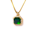 디자인바이티에스에스(Design By TSS) Design By TSS EMERALD GREEN Necklace (GOLD)