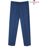 AWESOME DENIM PINTUCK WIDE PANTS Light-Blue