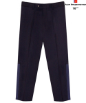어썸 이미지네이션(AWESOME IMAGINATION) AWESOME COMBINATION SEMI WIDE SLACKS Navy