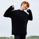 어썸 이미지네이션(AWESOME IMAGINATION) AWESOME GIANT NATURAL SWEAT T-SHIRTS Black