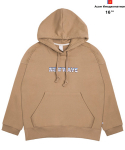 어썸 이미지네이션(AWESOME IMAGINATION) AWESOME COMMEMORATE HOOD SWEAT T-SHIRTS Beige