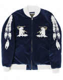 POLAR BEAR SOUVENIR JACKET [NAVY]
