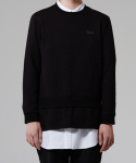 트와(TRWA) LAYERED LONGSLEEVE(BLACK)