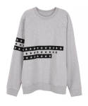 캄퍼씨(COMPATHY) [UNISEX]THREE STAR SWEAT_GY