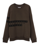 캄퍼씨(COMPATHY) [UNISEX]THREE STAR SWEAT_KH