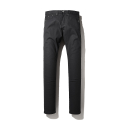 NEW DRY BLACK COATED JEANS (IK1GFMD130D)
