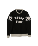 1228 DAEEKKI SWEAT SHIRTS (BLACK)