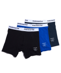 디스이즈네버댓(THISISNEVERTHAT) Boxer Briefs 3 Pack (White-Waistband)