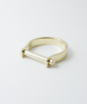스티클러드(STICKLERD) SHACKLERING 3MM-GOLD PLATED