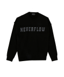 네버플로우(NEVERFLOW) vintage daekki sweat shlrts (black)