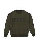 네버플로우(NEVERFLOW) vintage daekki sweat shlrts (khaki)