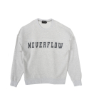 네버플로우(NEVERFLOW) vintage daekki sweat shlrts (3% melange)