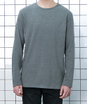 Unbalance Layered T-Shirt (Gray)