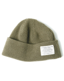 아웃스탠딩(OUTSTANDING) MERINO WOOL WATCH CAP[KHAKI]
