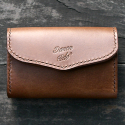 BUSINESS CARD WALLET (BROWN)
