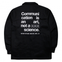 비블랙(BEBLACK) NO SCIENCE COACH JACKET BLACK
