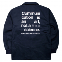 비블랙(BEBLACK) NO SCIENCE COACH JACKET NAVY