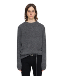 [VUIEL] [UNISEX] ALPACA SWEATER _ GREY [뷔엘]