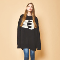 제너럴코튼(GENERAL COTTON) [wool Knit] NOON Black