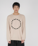 로우 투 로우(RAW TO RAW) 3D symbol long sleeve(beige)