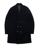 바스틱(vastic) Vastic Heavy Wool Double Coat_Black