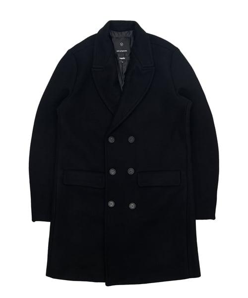 바스틱_Vastic Heavy Wool Double Coat_Black