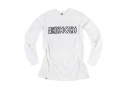 루스리스(RUTHLESS) SLOGAN LONG SLEEVE TEE / WH