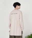 로우 투 로우(RAW TO RAW) [Edition 4] SADHU LONG SWEATSHIRT
