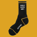 앤커버(NCOVER) Walk with me socks-black