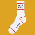 앤커버(NCOVER) Lets walk socks-white
