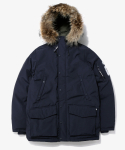 디스이즈네버댓(THISISNEVERTHAT) WOODSMAN Down Parka Navy