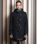 데이뉴트럴() Woman_Wool duffle coat_Black