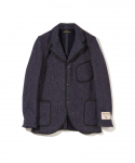 BROWNS BEACH / LAPEL JACKET / NAVY