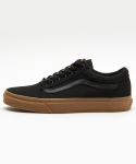 반스() VN0A31Z9L0D1 / Old Skool-(Canvas Gum) black/light gum