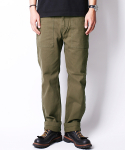 크래프티드(KRAFTED) MILITARY FATIGUE PANTS-KHAKI