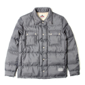 세인트페인(SAINTPAIN) SP BRONX QUILTED SHIRT LS-GRAY