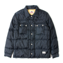 세인트페인(SAINTPAIN) SP BRONX QUILTED SHIRT LS-NAVY