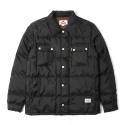 세인트페인(SAINTPAIN) SP BRONX QUILTED SHIRT LS-BLACK