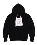 문수권세컨(MSKN2ND) MAKE LOVE HOODY BLACK