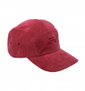 Signature Embroidery Corduroy Cap_Red