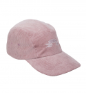 Signature Embroidery Corduroy Cap_Pink