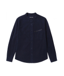 브로큰맨션(BROKENMANSION) Stand collar porket shirt